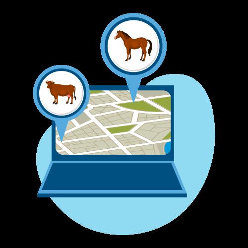 Спутниковое отслеживания скота на пастбищах