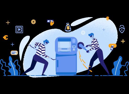 Сигнализация для банкоматов