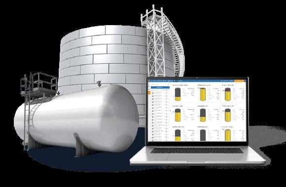 мониторинг уровня топлива в резервуарах