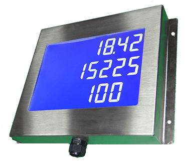 Промышленный дисплей RS485
