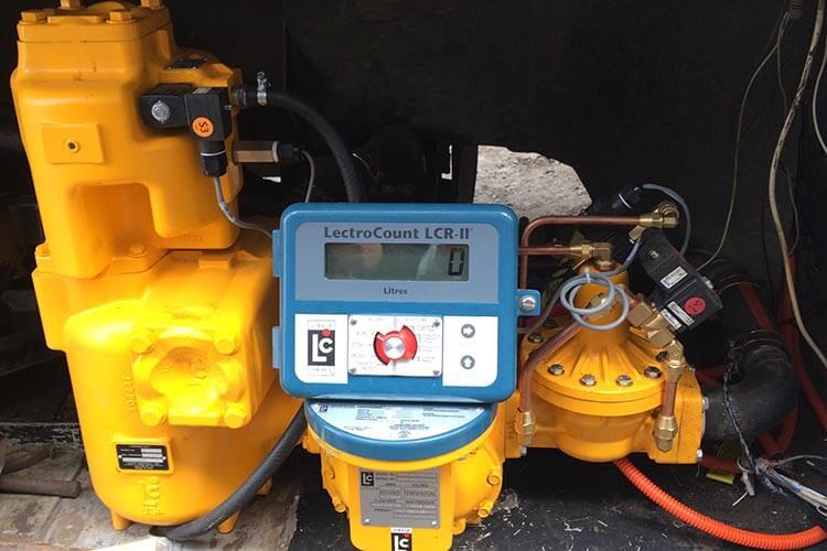 Расходомер Liquid controls SAMPI